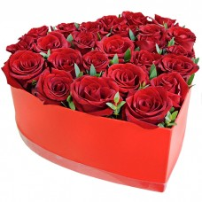 Композиция Любовь моя из 25 роз